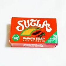 135g SUTLA PAPAYA SOAP NATURAL SKIN WHITENER & BRIGHT RADIANT SKIN NO ANIMAL FAT
