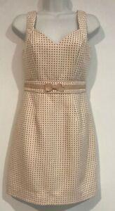 Review Pencil Dress Polka Dot Size 8