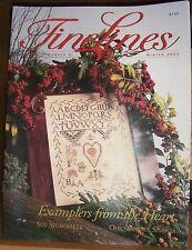 FineLines Magazine Winter 2003 Volume 7 Number 3