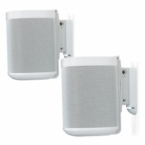 Sonos One Wandhalterung, verstellbar, Paar weiß (Flexson FLXS1WM2011)