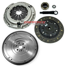 NEW HD CLUTCH KIT+ NODULAR FLYWHEEL 89-91 HONDA CIVIC / CRX 1.5L 1.6L D15 D16