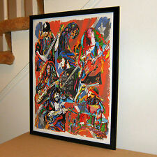 Lynyrd Skynyrd, Ronnie Van Zant, Gary Rossington Southern Rock18x24 POSTER w/COA