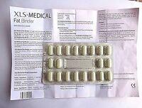 XLS-Medical Fat Binder Tablets - 6, 20, 30, 60, 120, 180 NO BOX