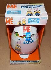 Easter Kids Minion Easter Egg Dispenser Despicable Me & Jelly Beans 114F