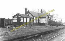 Osbaldwick Railway Station Photo. York - Dunnington. Derwent Valley Light. (1)