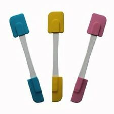 Lot of 3 Silicone Double-ended Spatulas - High or Low Heat