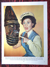 """BETTY GARRETT - FILM STAR - 1 PAGE PICTURE -"""" CLIPPING / CUTTING"""""""