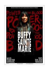 Buffy Sainte Marie 2016 Kent Concert Poster