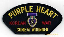 PURPLE HEART KOREAN WAR HAT PATCH PIN UP US ARMY MARINES NAVY AIR FORCE KOREA