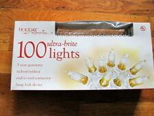Holiday Memories 100 ultra brite clear light end-to-end indoor/outdoor