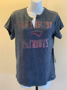 New New England Patriots Womens Size S Small Gray Brand '47 Shirt
