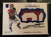 JOE MIXON /15 BENGALS RUBY ROOKIE AUTO JERSEY PATCH RPA RC 2017 PANINI FLAWLESS