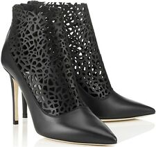 Jimmy Choo 'Maurice' Perforated Bootie Ankle Boot 41/11