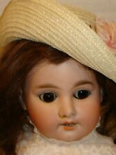 "Antique French Mkt. Armand Marseille 1894 German Bisque Doll, 22"" Doll"