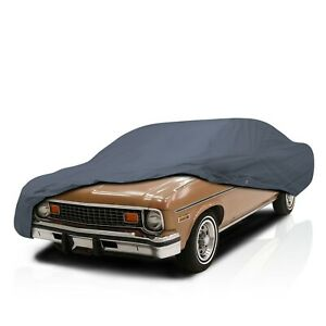 4 Layer Water Resistant Full Car Cover for Chevrolet Chevy II 2-Door 1966-1967