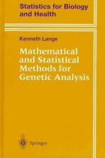 Mathematical and Statistical Methods for Genetic Analysis-ExLibrary