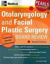 Otolaryngology and Facial Plastic Surgery Board Review-ExLibrary