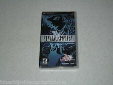 """Final Fantasy """"Black Label""""  Video Game Sony PSP Unopened FREE SHIPPING"""