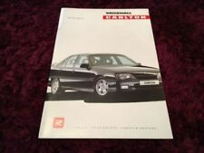 Carlton 1990 Vauxhall/ Opel Car Sales Brochures