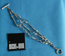 bracelet numéroté BICHE DE BERE 177/289 métal argenté