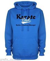 """Mens Hoodie """"Karate Dad""""  Hoody"""