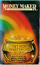 MONEY MAKER GET RICH INVESTMENT GUIDE May 1982 V3 #4 RARE Edited by Larry Teeman