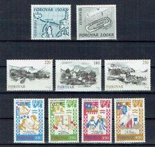 Faroer 1982  Mi  nr 70 - 78 Foroya Fa nr 72 - 80 (d7)