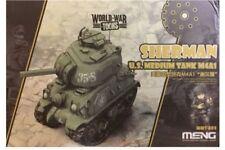 Meng WWT-002 Egg World War Toons Sherman U.S. Medium Tank M4A1
