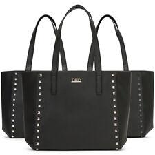 Bolso de mujer TWIG ASTELL con tachuelas shopping bag negra