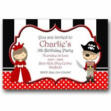 Birthday, Child Pirates Unbranded Hand-Made Cards