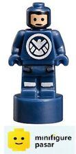 Lego Marvel 76042: The SHIELD Helicarrier - SHIELD Agent Statuette Minifigure
