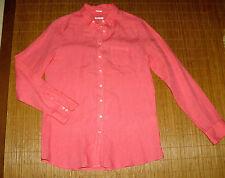 Klassische Damenblusen, - tops & -shirts mit Button Down-Kragen ohne Muster
