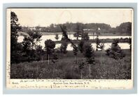 Reservoir Lake, New Rochelle NY c1906 Postcard K5