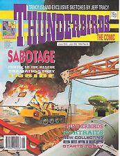 Thunderbirds #45 (June 26 1993) TV21 full colour reprint strips