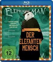 THE ELEPHANT MAN [Blu-ray] (1980) David Lynch, John Hurt Movie German Import