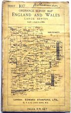 Ordnance Survey 3rd edition Map of WATFORD & HIGH WYCOMBE 1912 sheet 107