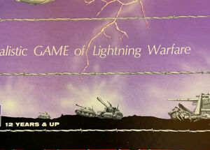 1965 Avalon Hill 700 BLITZKRIEG Unpunched! Complete! Lightning Warfare Game