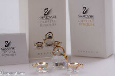 SWAROVSKI Crystal Moments TEAPOT with CUPS TEASET 174009