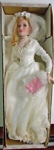 Florence Maranuk Collection Show Stoppers Cherished Bride Doll In Box