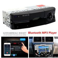 1 DIN Car Stereo 12V FM Radio SD/USB/AUX Bluetooth Remote Head Unit MP3 Player.