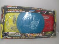 Innova DX Disc Golf Set 3 Disc Outdoor Sports Driver Mid-Range and Putter Colors