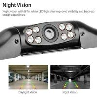 8LED Car Rear View Reverse Backup Parking Camera HD Vision Waterproof Night M9G8
