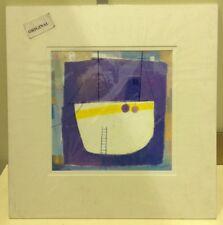 David Jaundrell - Dry Dock Original Acrylic - Mounted ( In Stock)