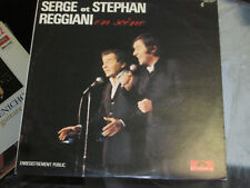 Serge et Stephan Reggiani - En Scene 33 Rpm Record Vinyl Lp