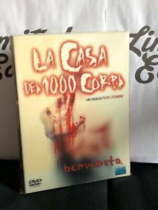 LA CASA DEI 1000 CORPI -dvd- digipack- Film di Rob Zombie-