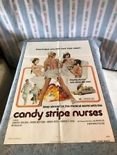 "Candy Stripe Nurses 1974 Original 1 Sheet Movie Poster 27"" x 41"" (VG+) Corman"