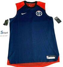 NWT SIZE XLT MEN Nike Washington Wizards NBA Player Issue Training Jersey Vest