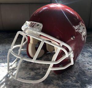 Arkansas Razorbacks Game Used - Team Issue Football Helmet - Bobby Petrino
