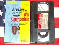 Wilt Chamberlain Cross Fitness VHS Tape ESPN Video Rare Workout NBA Exercise