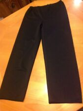 Black Pirate Colonial Theater Production Pants Wardrobe Halloween Costume Medium